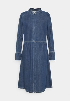 LIGHT INDIGO DUPINA - Denim dress - indigo