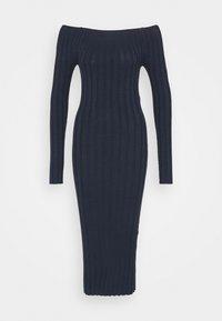 YAS - YASVERONICA MIDI DRESS - Shift dress - navy blazer - 0