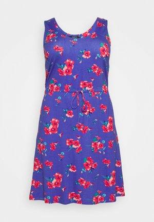 VEST SHORT DRESS - Jerseyjurk - blue