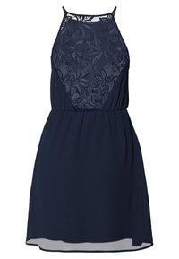 VILA PETITE - VIMICADA  SHORT  DRESS - Robe d'été - navy blazer - 1
