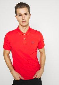 GANT - THE ORIGINAL RUGGER - Polo shirt - lava red - 3