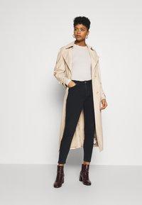 Lee - SCARLETT HIGH ZIP - Jeans Skinny Fit - dark icon - 1