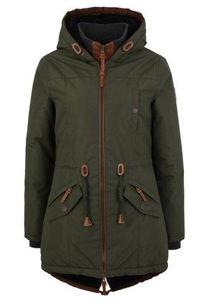 ABBY - Winter coat - green