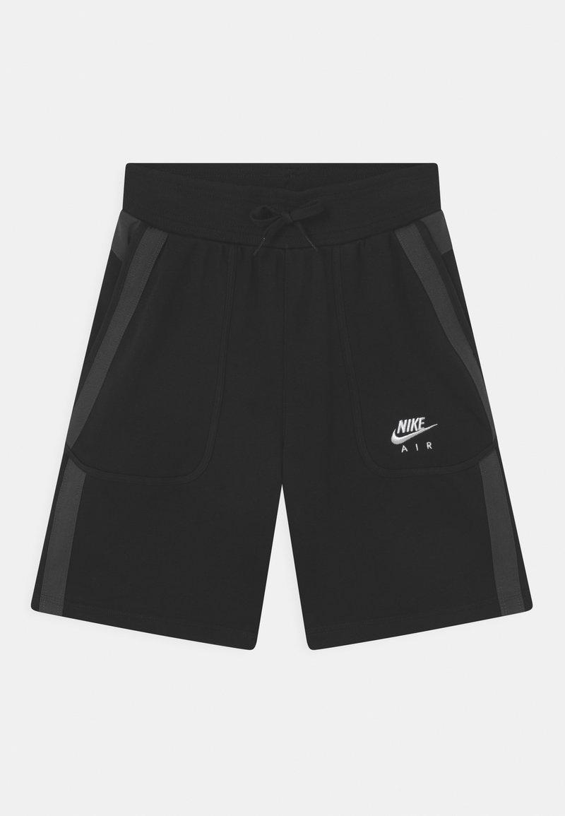 Nike Sportswear - AIR - Szorty - black/dark smoke grey/white