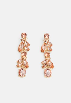 PCJUDI EARRINGS KEY - Ohrringe - gold-coloured