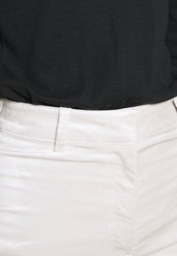 Weekday - RYDEL TROUSER - Trousers - cream - 4