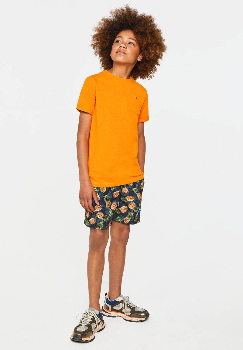 WE Fashion - T-shirt basic - bright orange