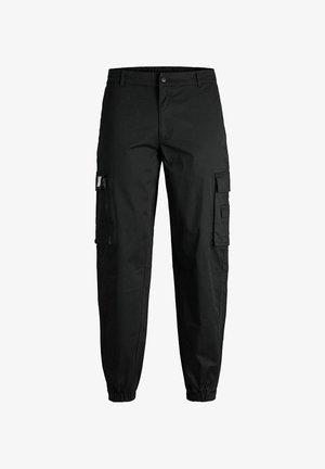 BILL THRILL - Pantalon cargo - black