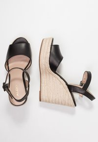 ALDO - YBELANI - High heeled sandals - black - 3