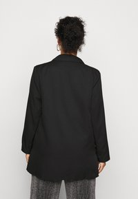 Missguided Plus - DOUBLE BREASTED - Blazer - black - 2