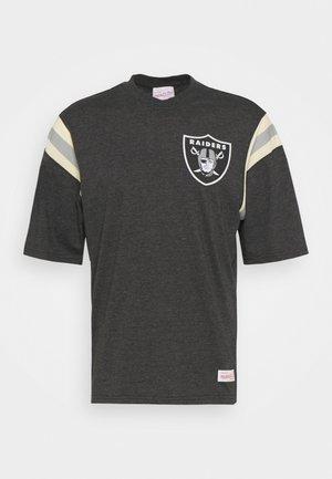 NFL OAKLAND RAIDERS EXTRA INNINGS TEE - Club wear - black
