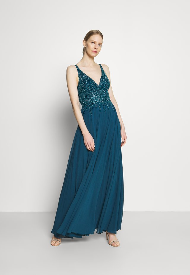 Suknia balowa - petrol