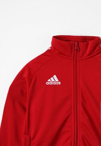 adidas Performance - CORE 18 FOOTBALL TRACKSUIT JACKET - Training jacket - power red/white - 3