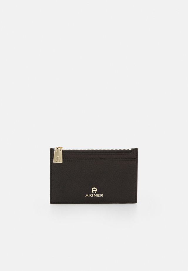 IVY CARD CASE - Portfel - black