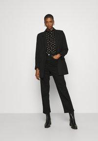 Dorothy Perkins - Long sleeved top - black - 1