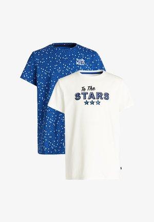 MEISJES MET OPDRUK, 2-PACK - T-shirt print - multi-coloured