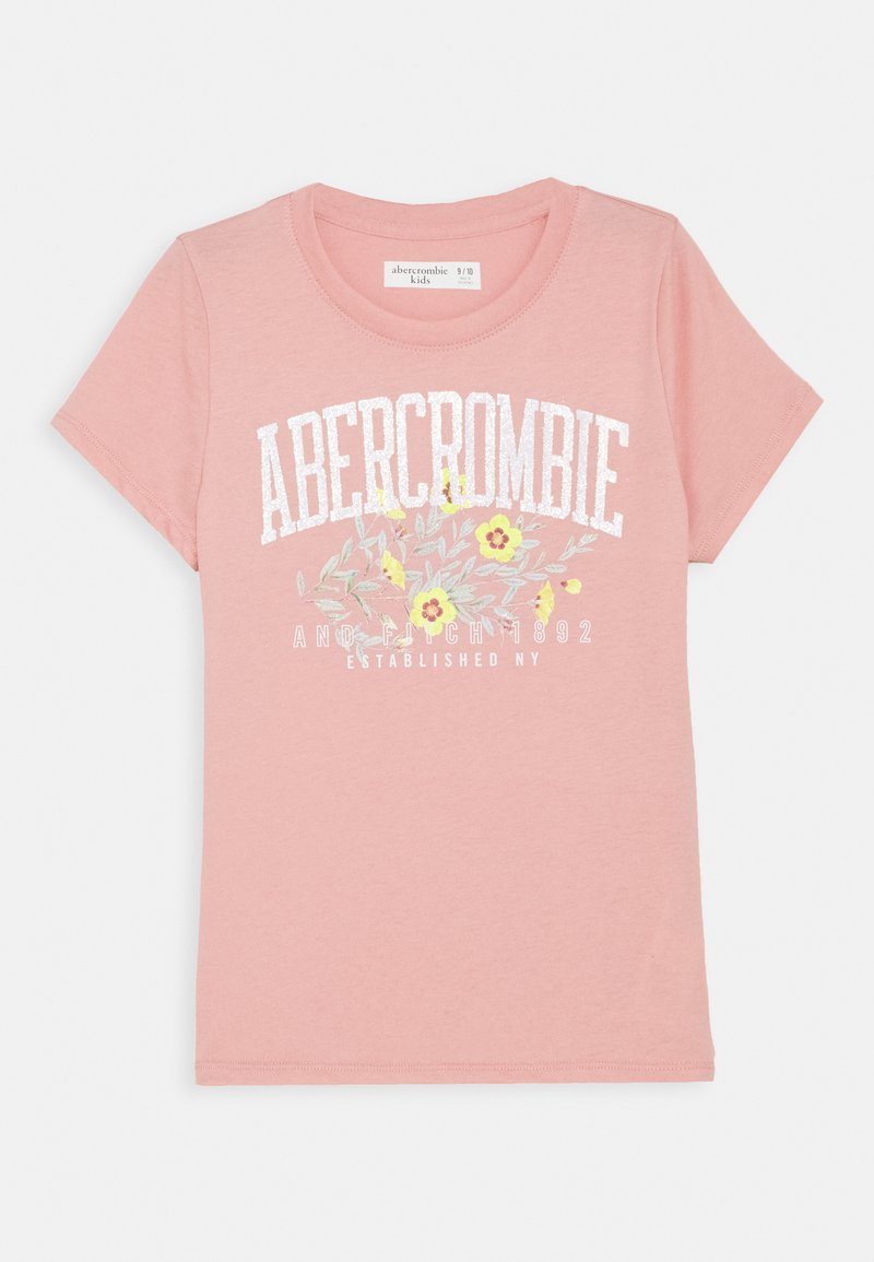 Abercrombie & Fitch - T-shirt print - pink