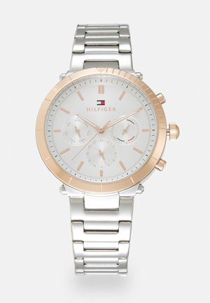 EMERY - Watch - silver-coloured/white