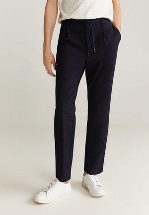 NOLAN7 - Pantalon classique - dunkles marineblau