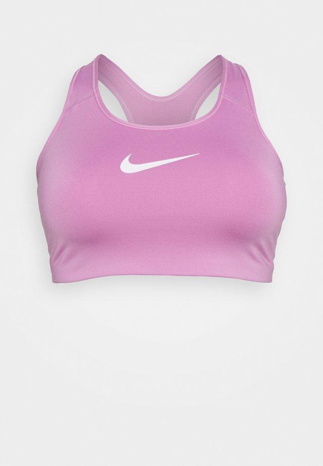 BRA - Stanik sportowy z średnim wsparciem - beyond pink