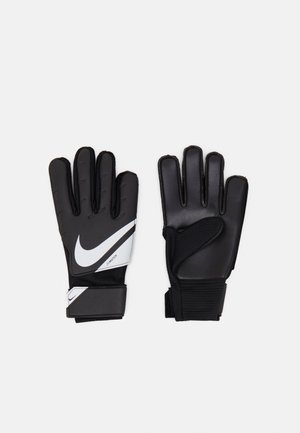 GOALKEEPER MATCH UNISEX - Goalkeeping gloves - black/white