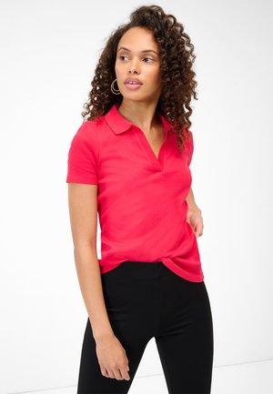 GERIPPTES - Polo shirt - cherry
