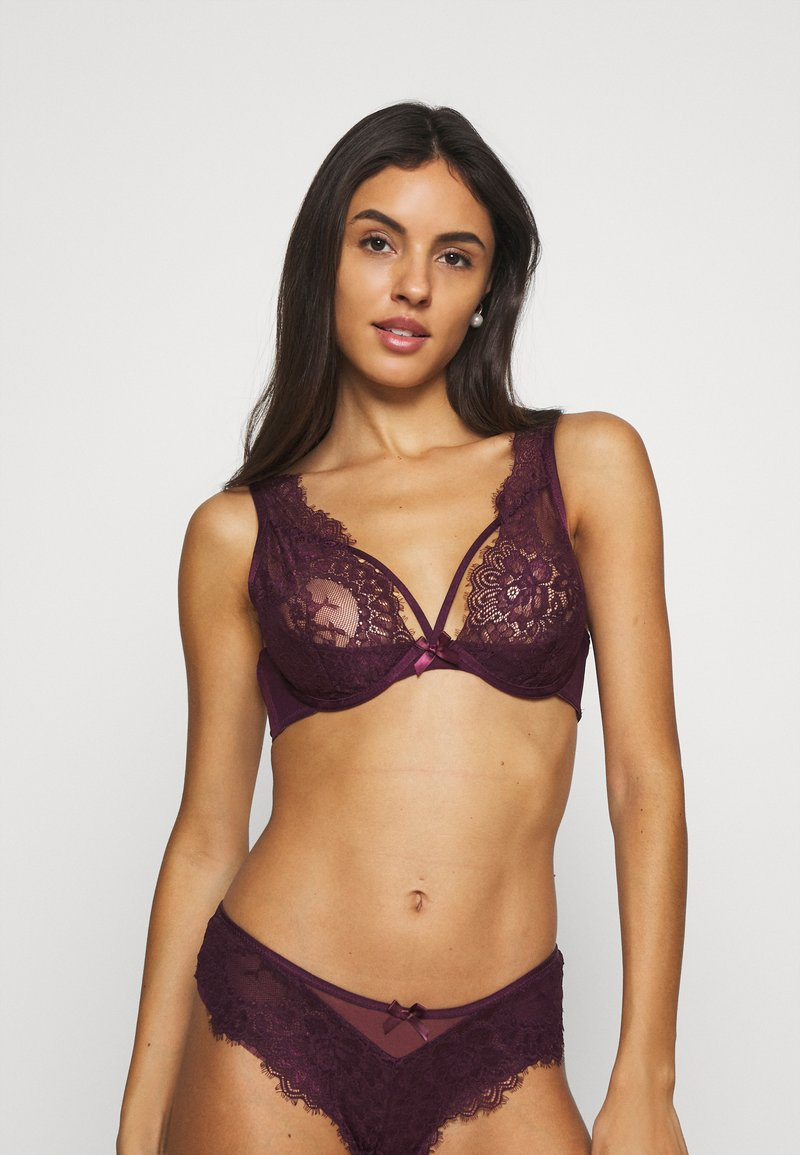 Hunkemöller - LATISHA UP - Triangle bra - potent purple