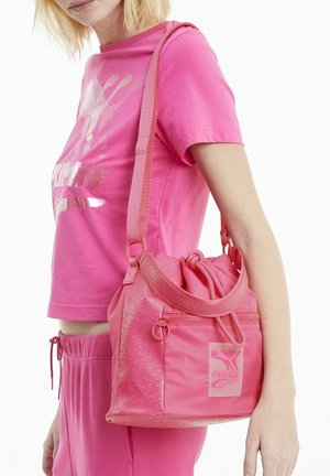 Borsa a tracolla - glowing pink