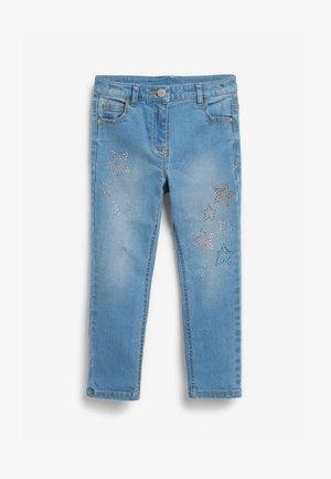 HEATSEAL STAR  - Skinny džíny - blue