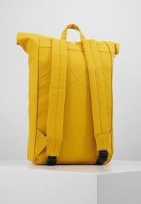 Sandqvist - DANTE - Rucksack - yellow - 1