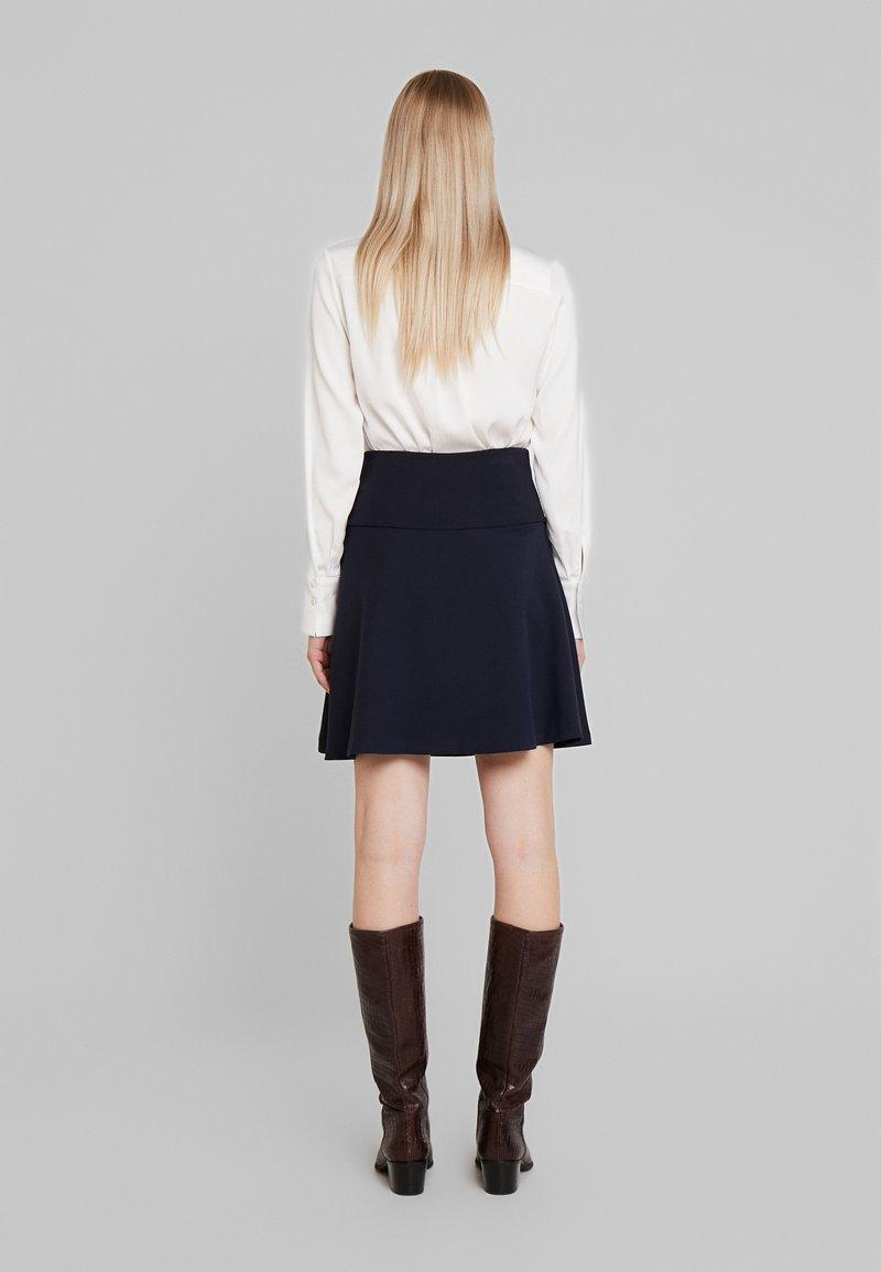 Re.draft - SKIRT - A-line skirt - dark navy
