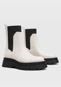Stradivarius - Ankle boots - off-white - 2