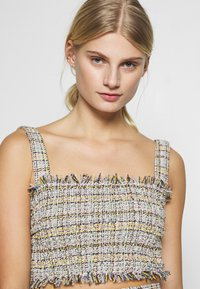 CMEO COLLECTIVE - FOR YOU LOVE TOP - Pusero - ivory tweed - 3