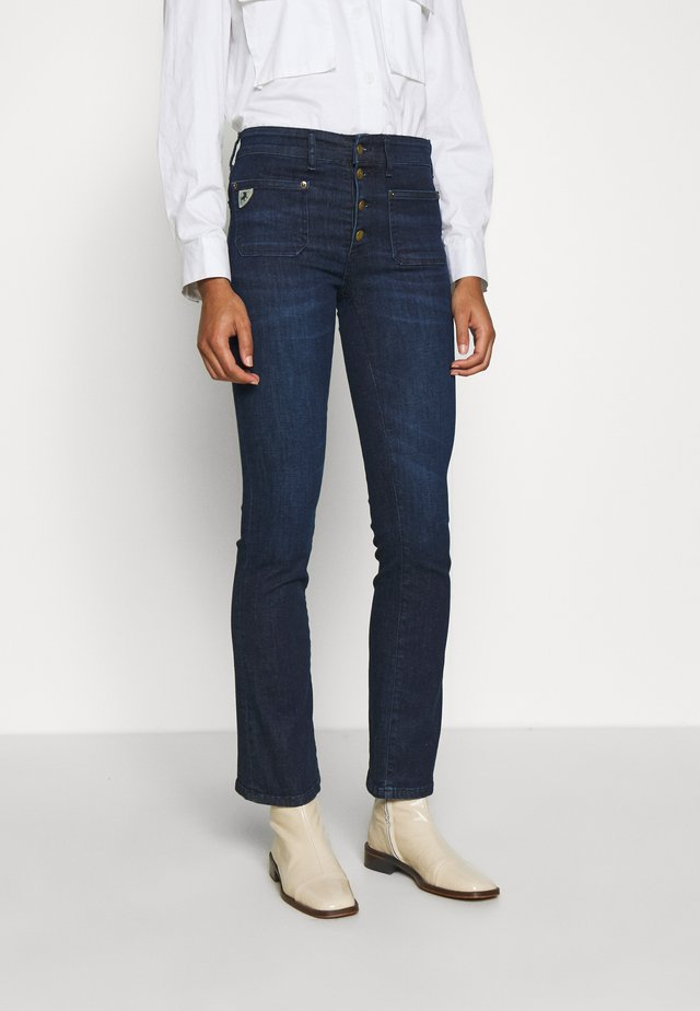 GAUCHO - Jeans bootcut - dark stone