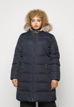 Down coat - dark navy