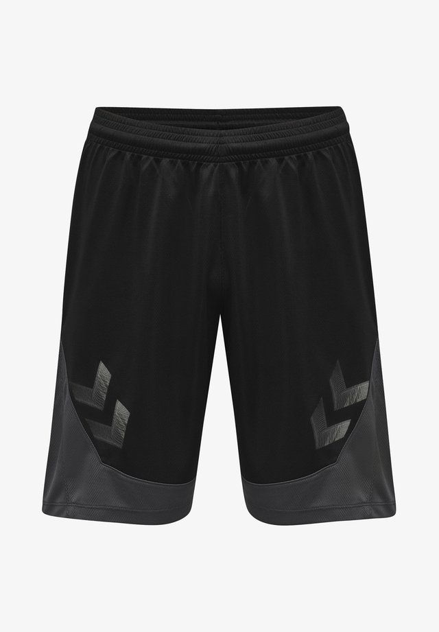 POLY - Sports shorts - black