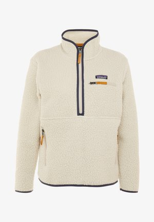 RETRO PILE MARSUPIAL - Fleece jumper - pelican