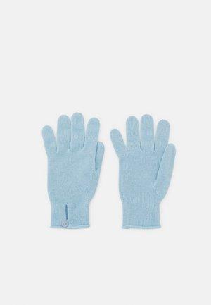 BUTTON LOOP GLOVE - Gloves - cielo