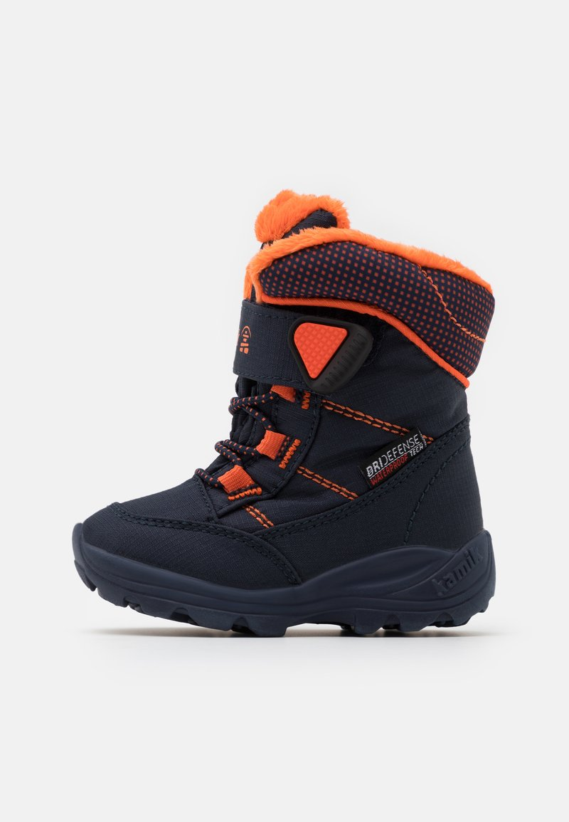 Kamik - STANCE UNISEX - Winter boots - navy/flame