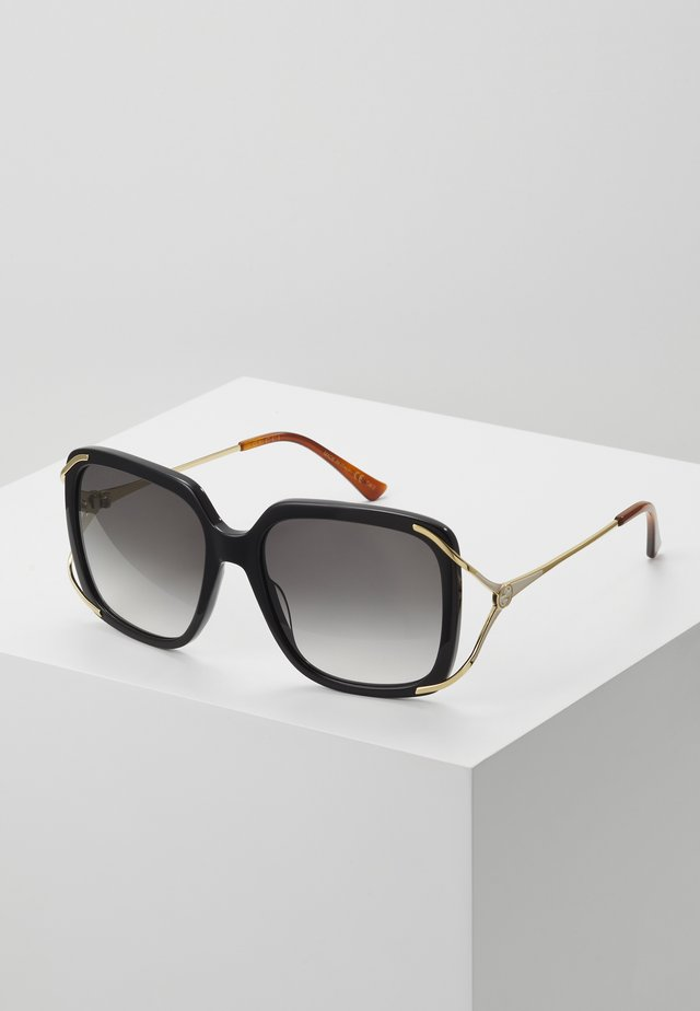 Sonnenbrille - black/gold/grey