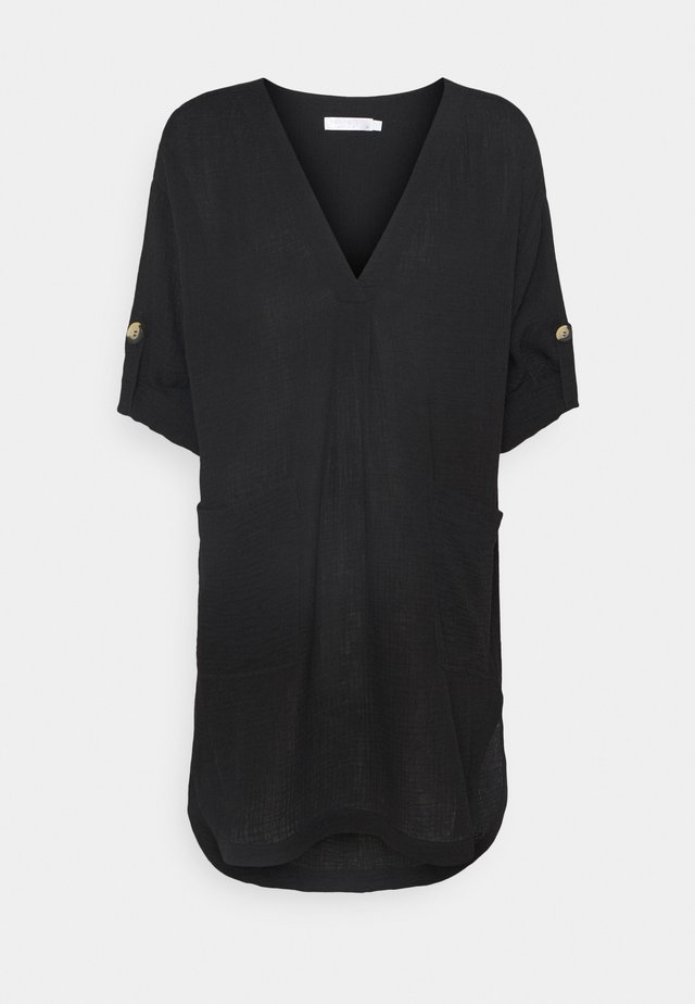 ESSENTIAL - Korte jurk - black