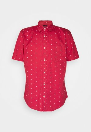 POPLIN - Shirt - arrow hearts red