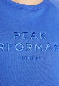 Peak Performance - ORIGINAL - Sweatshirt - bay blue - 4