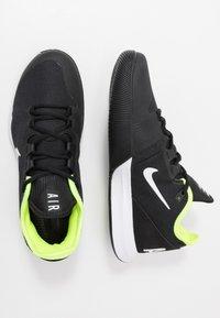 Nike Performance - NIKECOURT AIR MAX WILDCARD - Multicourt tennis shoes - black/white/volt - 1