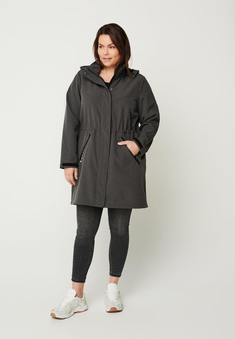 Zizzi - Outdoor jacket - dark grey