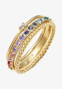 Elli - GLASS CRYSTAL - Bague - gold - 1