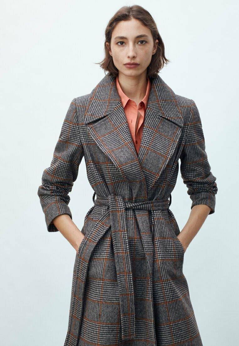 Massimo Dutti - Classic coat - grey
