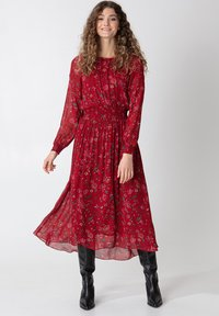 Indiska - Denní šaty - red - 1