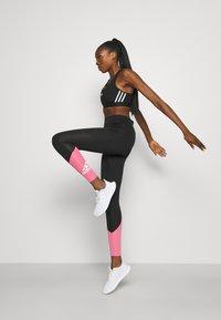 adidas Performance - Tights - black/rose tone/white - 1