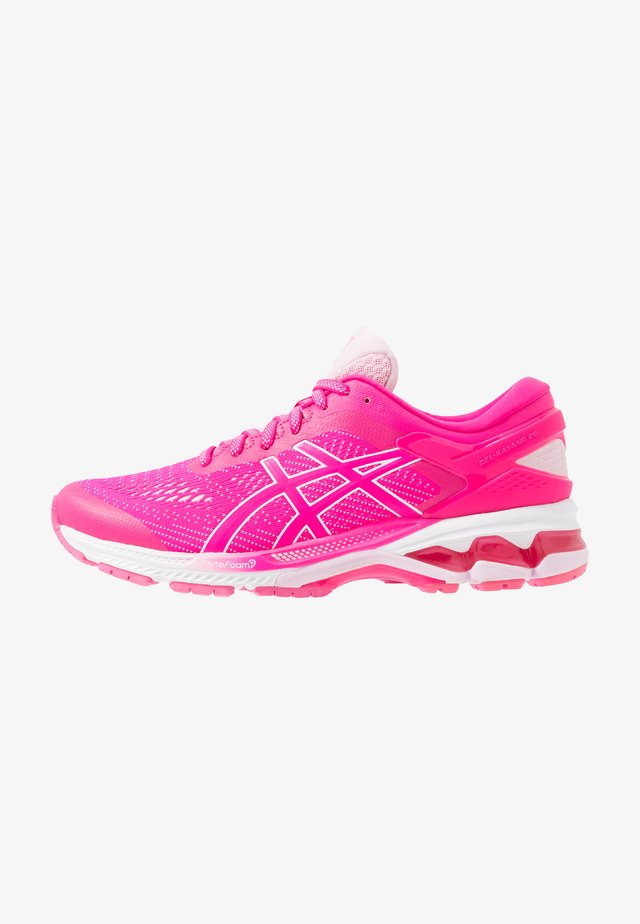 GEL-KAYANO 26 - Stabiliteit hardloopschoenen - pink glo/cotton candy